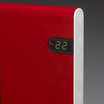 Elektromos fűtőpanel - Adax NEO NL fekete 1200 W
