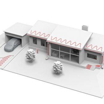 Elektromos fűtőszőnyeg kültérre - Comfort Heat CFTAV-300