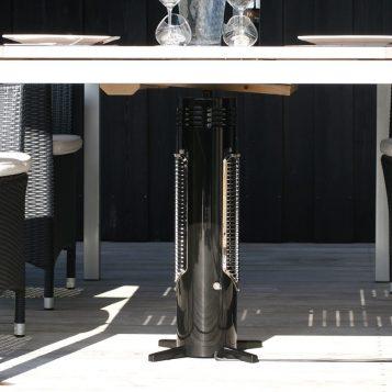 Elektromos infravörös hősugárzó - Mensa Heating Omnis fekete 400 W