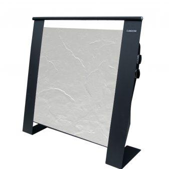 Elektromos kerámia hőtárolós fűtőpanel - Climastar Etna fehér pala 1500 W