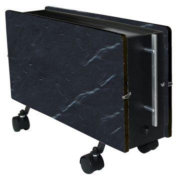 Elektromos kerámia hőtárolós fűtőpanel - Climastar Optimus fekete pala 1600 W