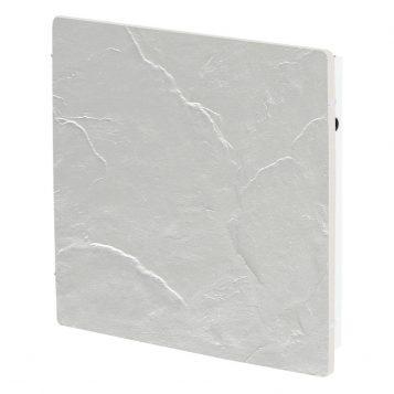 Elektromos kerámia hőtárolós fűtőpanel - Climastar Smart fehér pala 1000 W