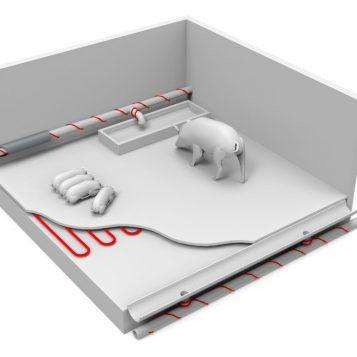 Elektromos önszabolyozó fűtőkábel - Comfort Heat Pipeheat 10; 8 m