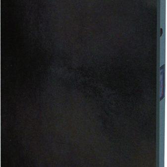 Elektromos kerámia hőtárolós fűtőpanel - Climastar Smart álló fekete pala 1000 W