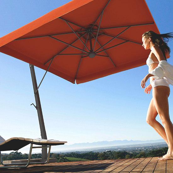 Napoli Braccio napernyő