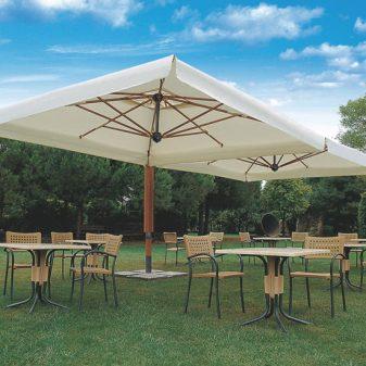 Palladio Double napernyő