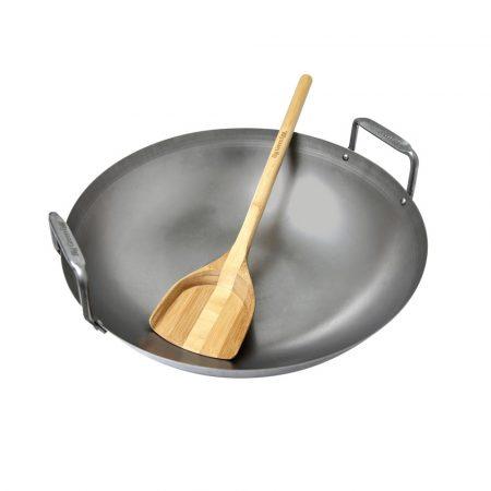 Szénacél wok