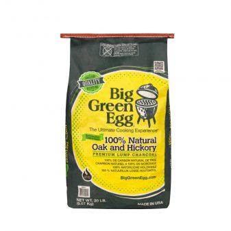 Organikus Big Green Egg faszén 9 kg - hickory és tölgy